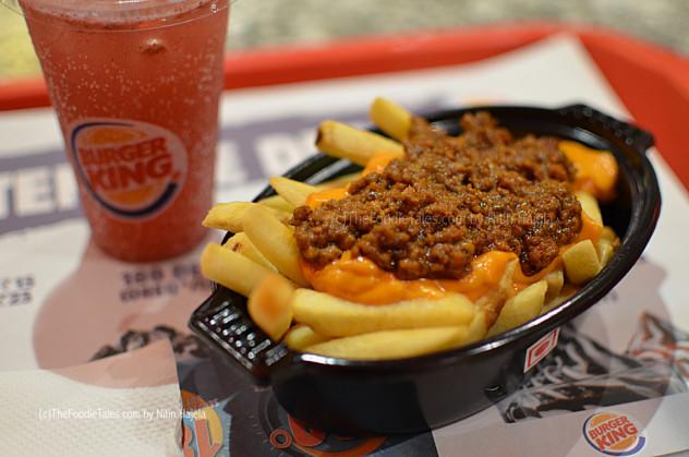 Taste is King ! at Burger King – The Foodie Tales