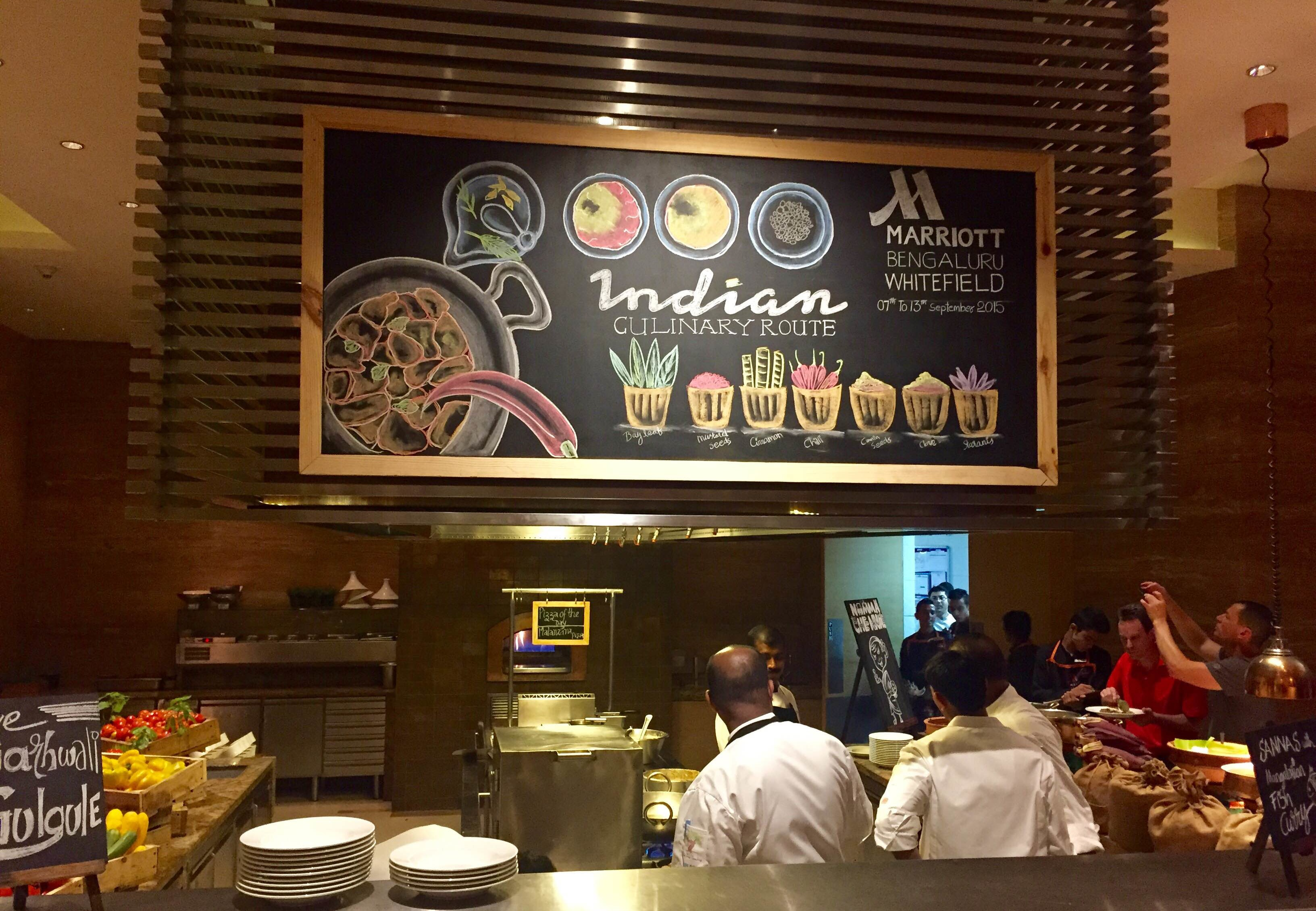 """Indian Culinary Route"" with Dozen Chefs @ Marriot Whitefield Bangalore"