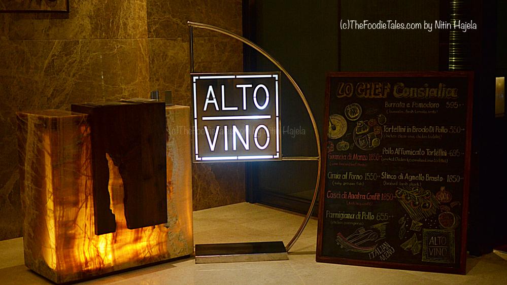 Chef Marou's new Italian menu – Alto Vino,Marriot Whitefield