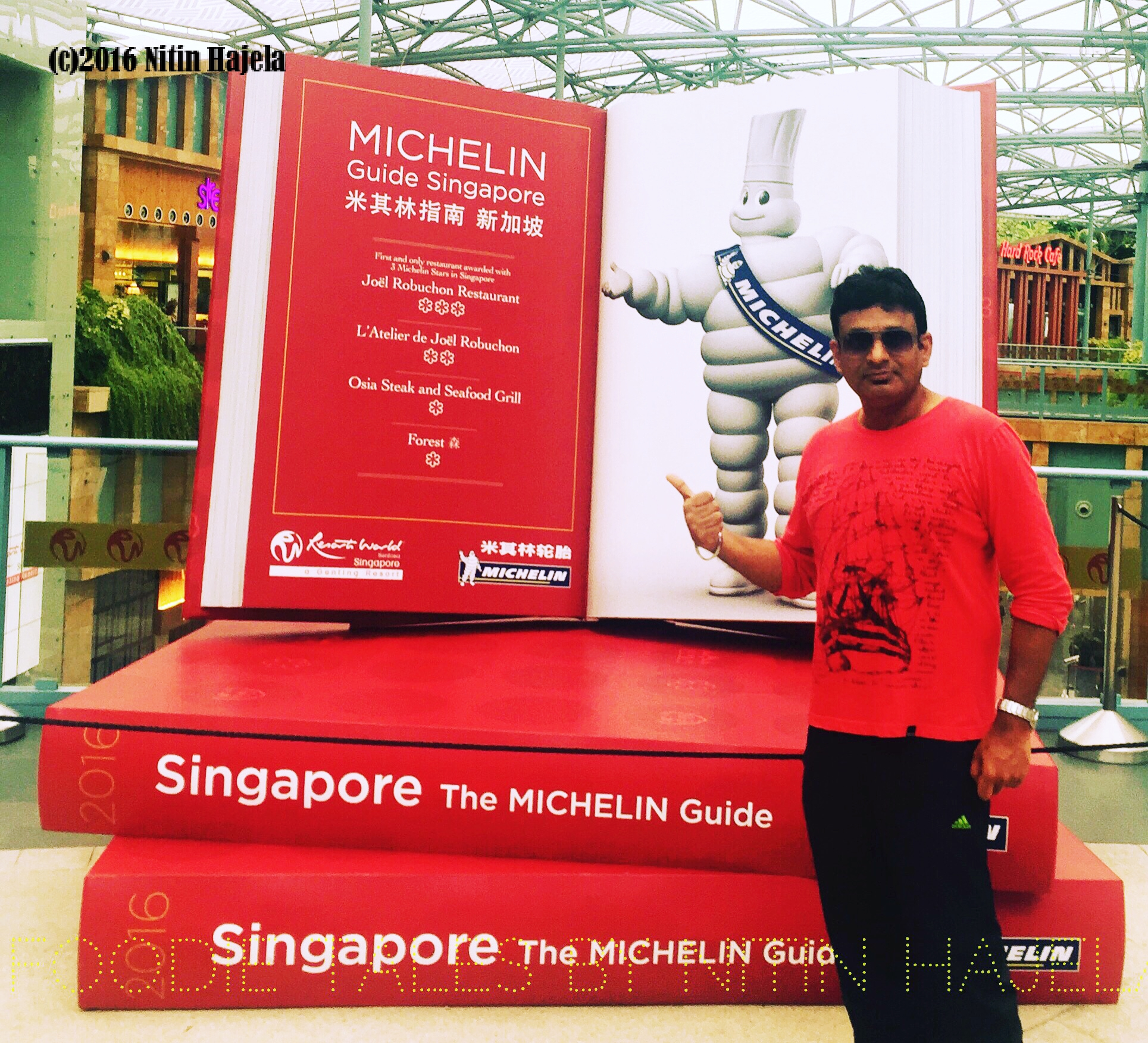 Michelin to now guide the Singapore food scenes !