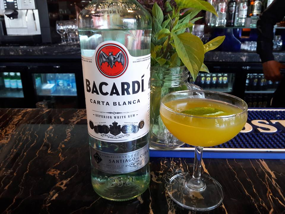Fresh Harvest , Bacardi finalist drink entry by WXYZ Bar, Aloft Bangalore