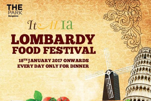 Enjoy the best of Lombardy Food at Italia -The Park, this month