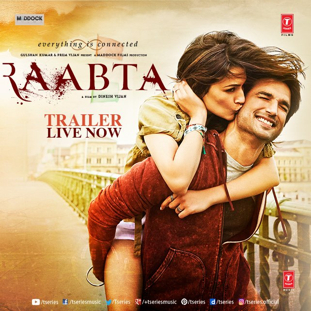 Raabta – review by Bhavna Kant