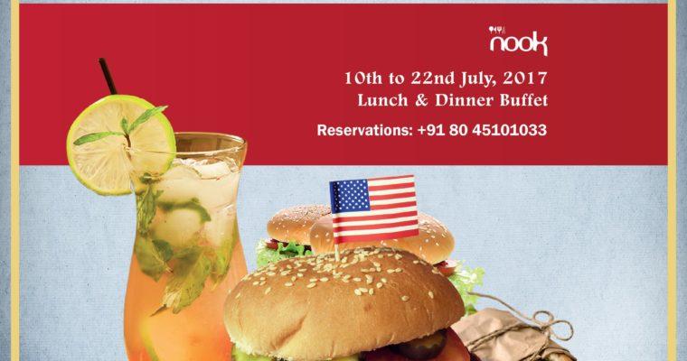 American Food festival at Aloft Bengaluru Cessna Business Park