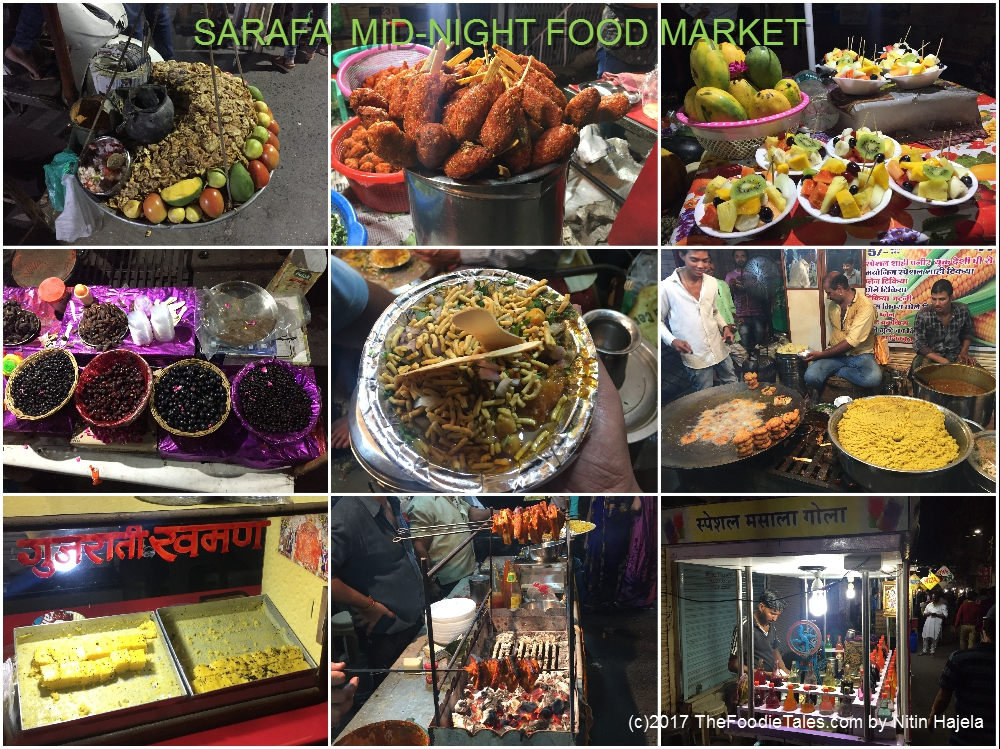 Sarafa -the midnight Foodie's dream at Indore
