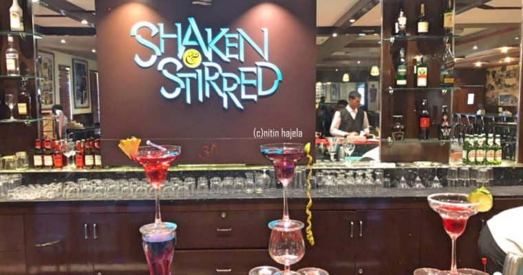 Restaurant Review :Shaken & Stirred ,Race Course Road,Bangalore |India