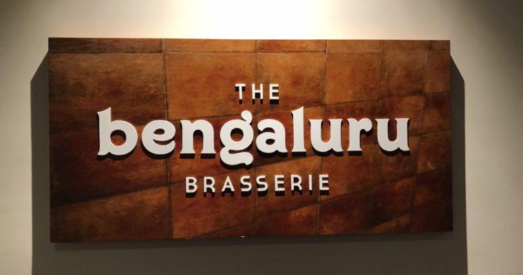 Restaurant Review : The Bengaluru Brasserie – Hyatt Centric , Bangalore | India